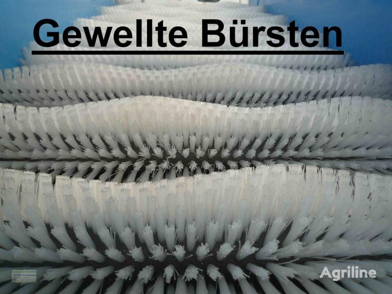 laveuse de légumes EURO-Jabelmann Bürstenmaschine, NEU, 11 Bürsten + 3 Spiralen, 550 mm breit neuf