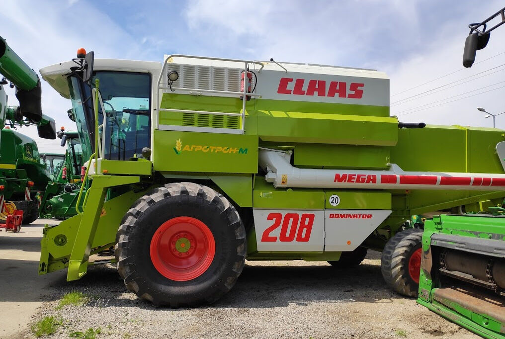 moissonneuse batteuse CLAAS Dominator 208 MEGA