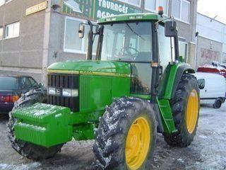 tracteur à roues JOHN DEERE 6600
