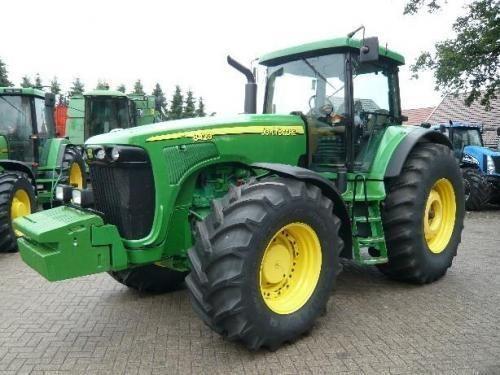 tracteur à roues JOHN DEERE 8520