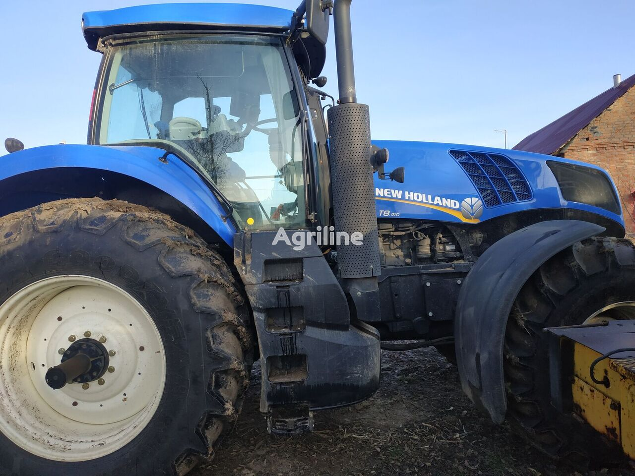 tracteur à roues NEW HOLLAND T8 410 neuf