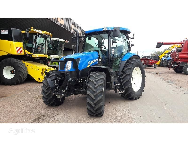 tracteur à roues NEW HOLLAND TRACTEUR NEW-HOLLAND T6.140