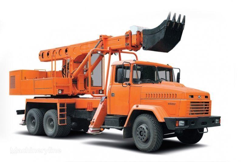 pelle télescopique KRAZ 65053 UDS-114R Avtoekskavator-planirovshchik neuf
