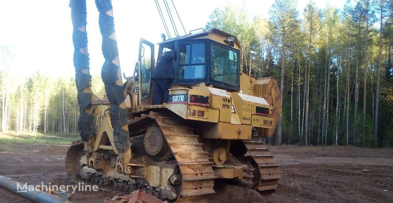 pipelayer CATERPILLAR 587R
