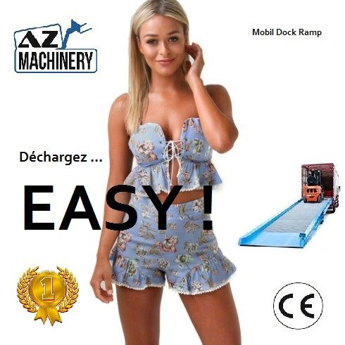 rampe de chargement mobile AZ-MACHINERY AZ RAMP- EASY 15 neuve