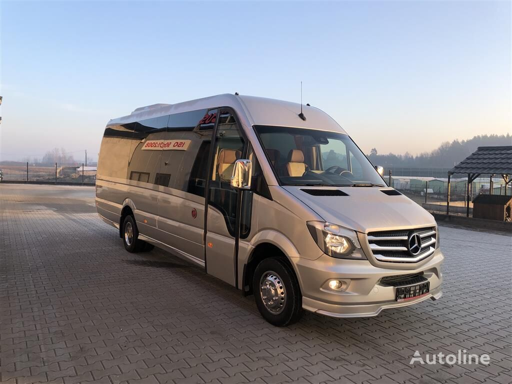 minibus de passager MERCEDES-BENZ 519CDI, 22+1+1Plätze Komfort XXXL-Verlängerung, Klima Front u. F neuf