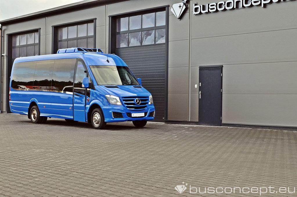 minibus de passager MERCEDES-BENZ Sprinter 519 XXL 19+1+1 Liner Special Colour neuf