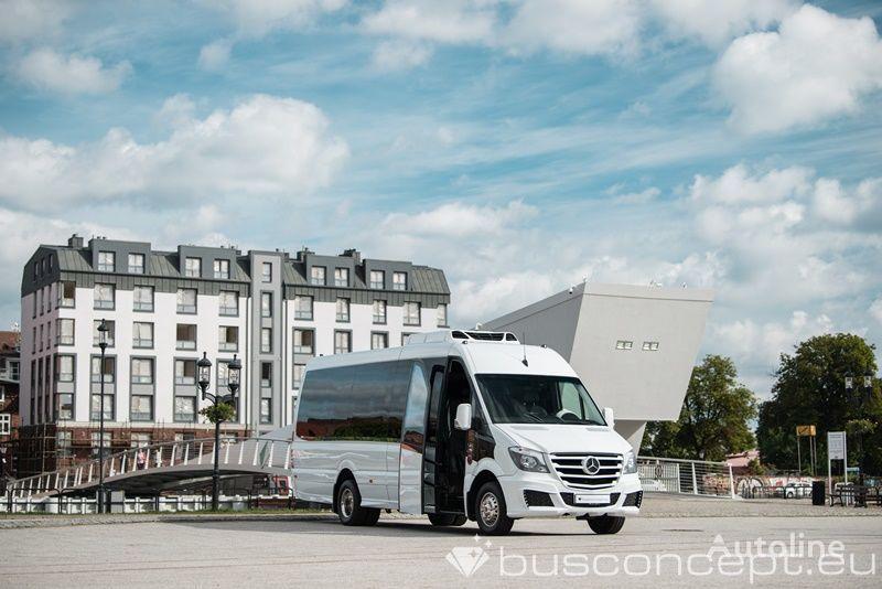 minibus de passager MERCEDES-BENZ Sprinter 519 XXL 19+1+1 Panorama neuf