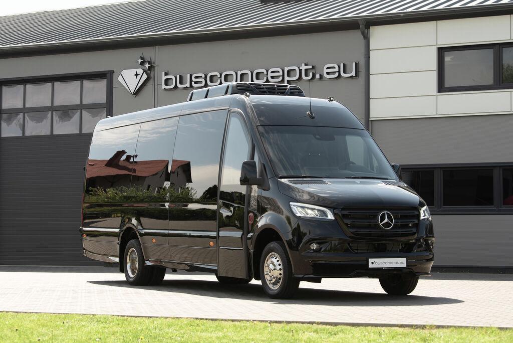minibus de passager MERCEDES-BENZ Sprinter 519, XXL Premium 2019 Design neuf