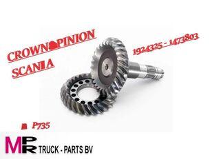 différentiel SCANIA RBP735 reductie 3,67 1924325-1473803 (1924325-1473803) pour camion neuf