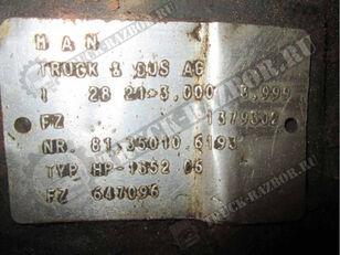 réducteur MAN заднего моста (81.35010.6193) pour tracteur routier MAN TGS