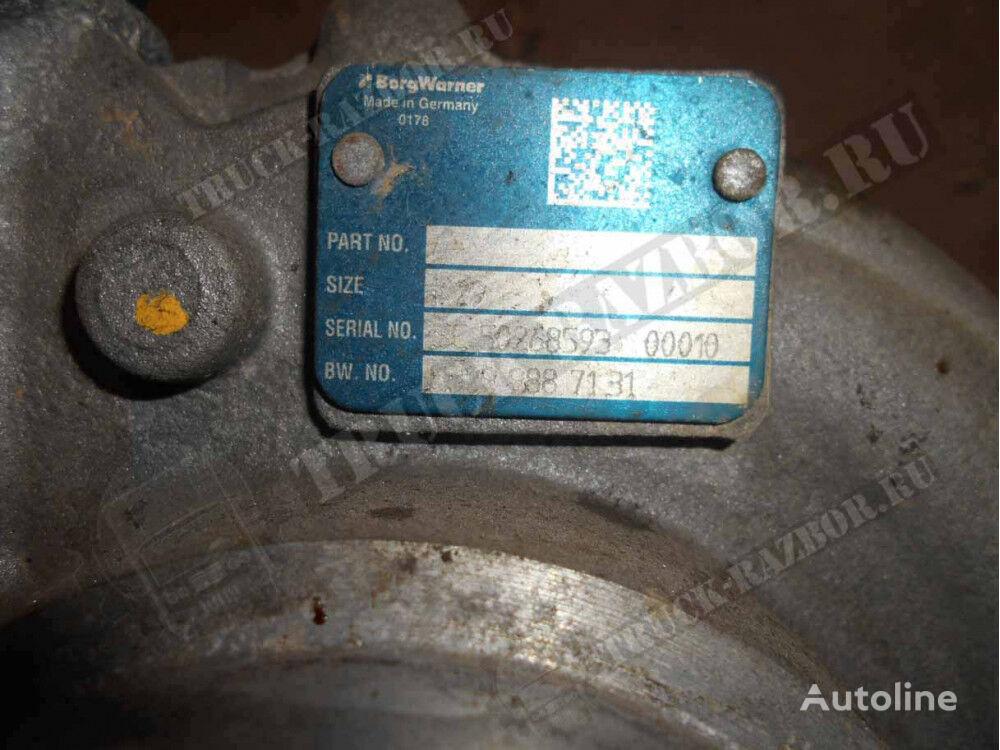 turbocompresseur de moteur pour tracteur routier MAN