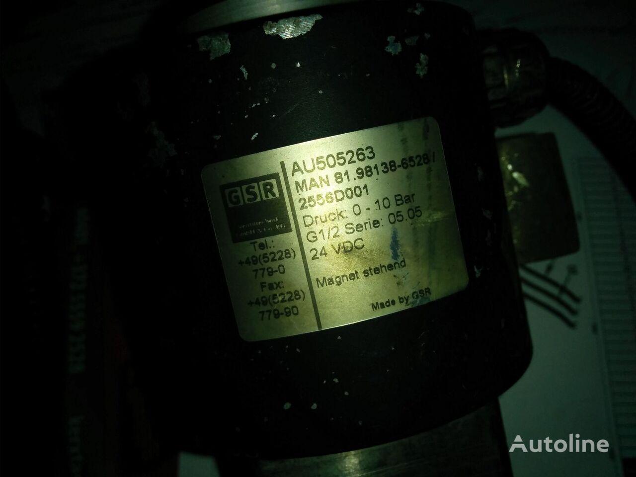 unité de commande MAN AU505263 81.98138-6528 pour bus MAN Leon Citi