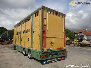 remorque bétaillère Menke-Janzen ANH Viehtransporter 3Stock