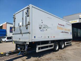 remorque fourgon WÖZ Anhanger Tandem ISO Anhänger + LBW 2500 KG