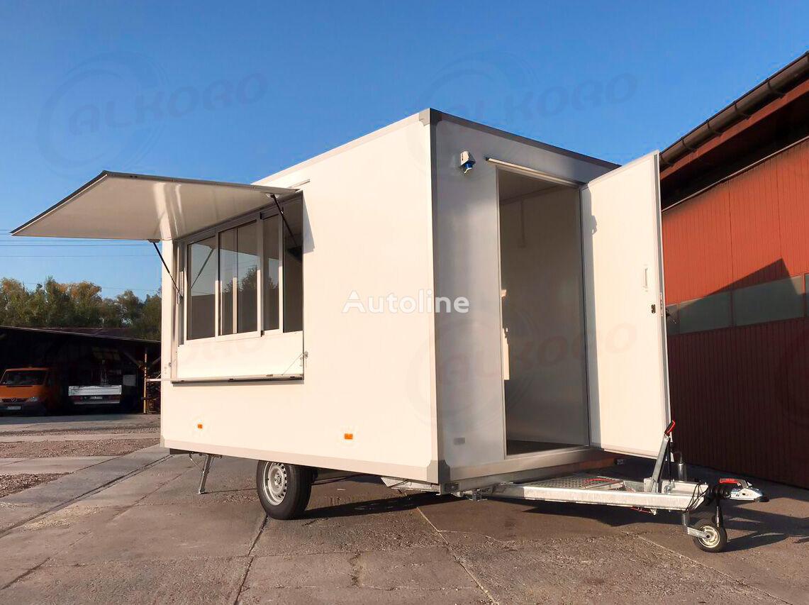 remorque magasin ALKORO 4M SS nowa przyczepa gastronomiczna | catering trailer neuve