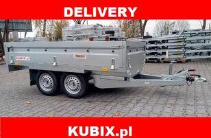 remorque plateau NEPTUN Twin-axle braked trailer Neptun GN156, N13-263 2 kps, GVW 1300kg neuve