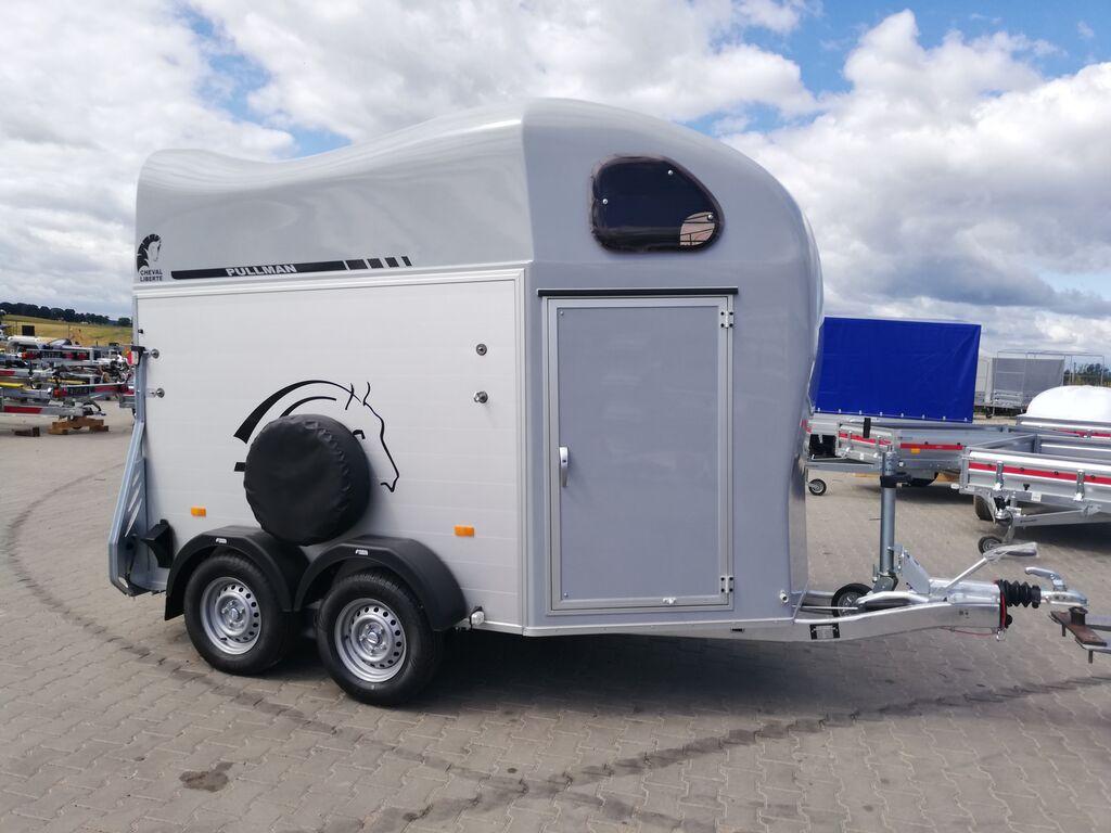 remorque pour chevaux Cheval liberte Gold II - two horses trailer neuve