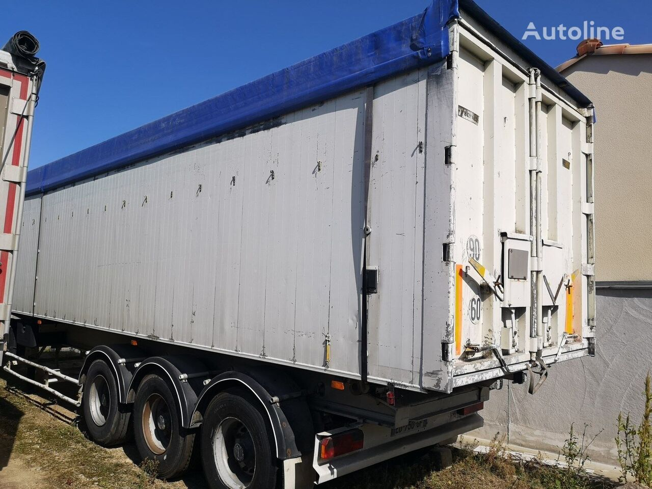 semi-remorque benne General Trailers Cereal Kipper V=62m3