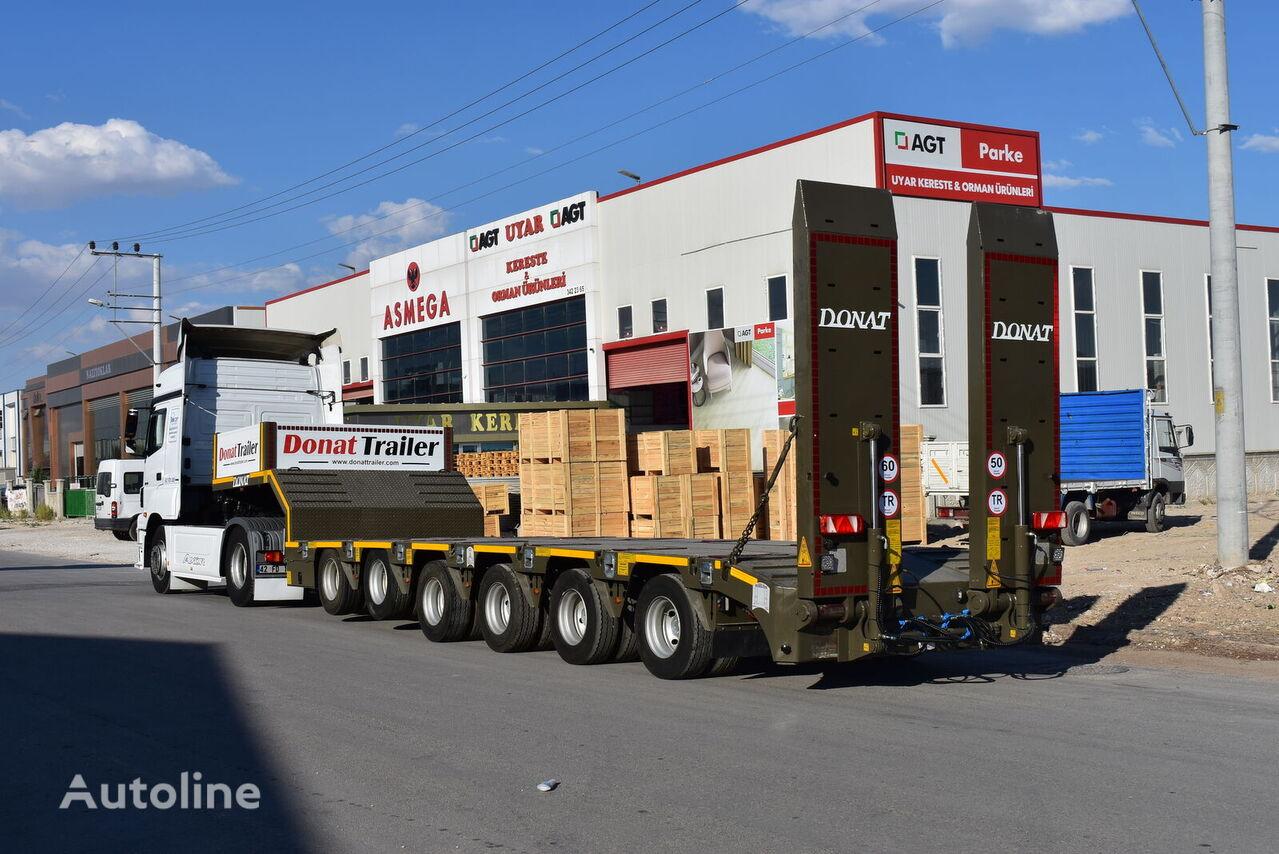 semi-remorque porte-engins DONAT 6 axle heavy duty lowbed semitrailer neuve