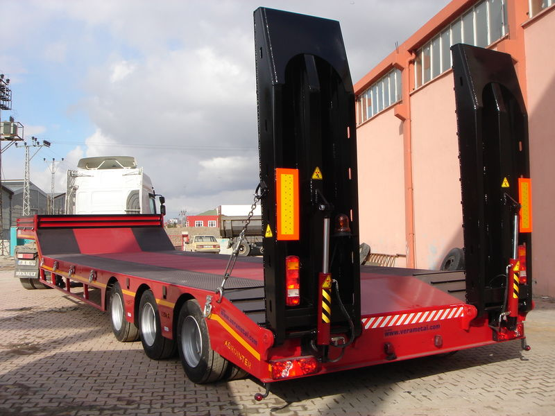 semi-remorque porte-engins LIDER 2019 YEAR NEW LOWBED TRAILER FOR SALE (MANUFACTURER COMPANY) neuf