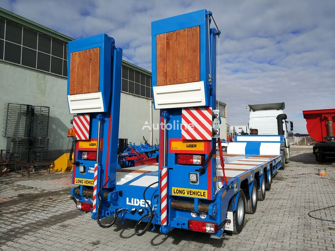semi-remorque porte-engins LIDER 2020  model new directly from manufacturer company available sel neuve