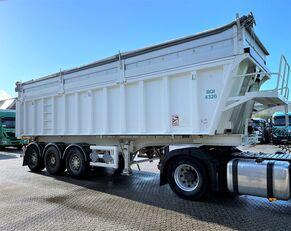 semi-remorque pour le transport de céréales STAS ALU - Kipper - 32m3 - Flip+Doors - 5.580kg