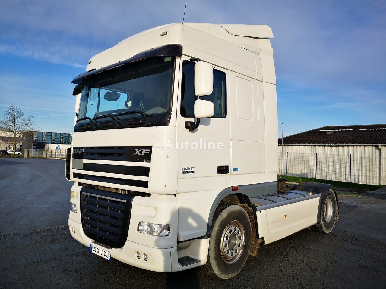 tracteur routier DAF XF 105.510 manual gearbox + intarder
