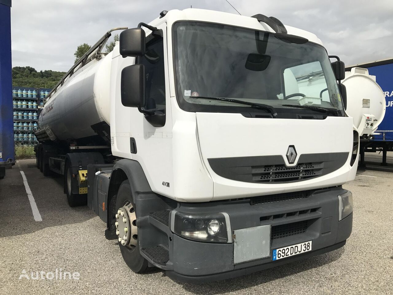 tracteur routier RENAULT Premium 410 ADR