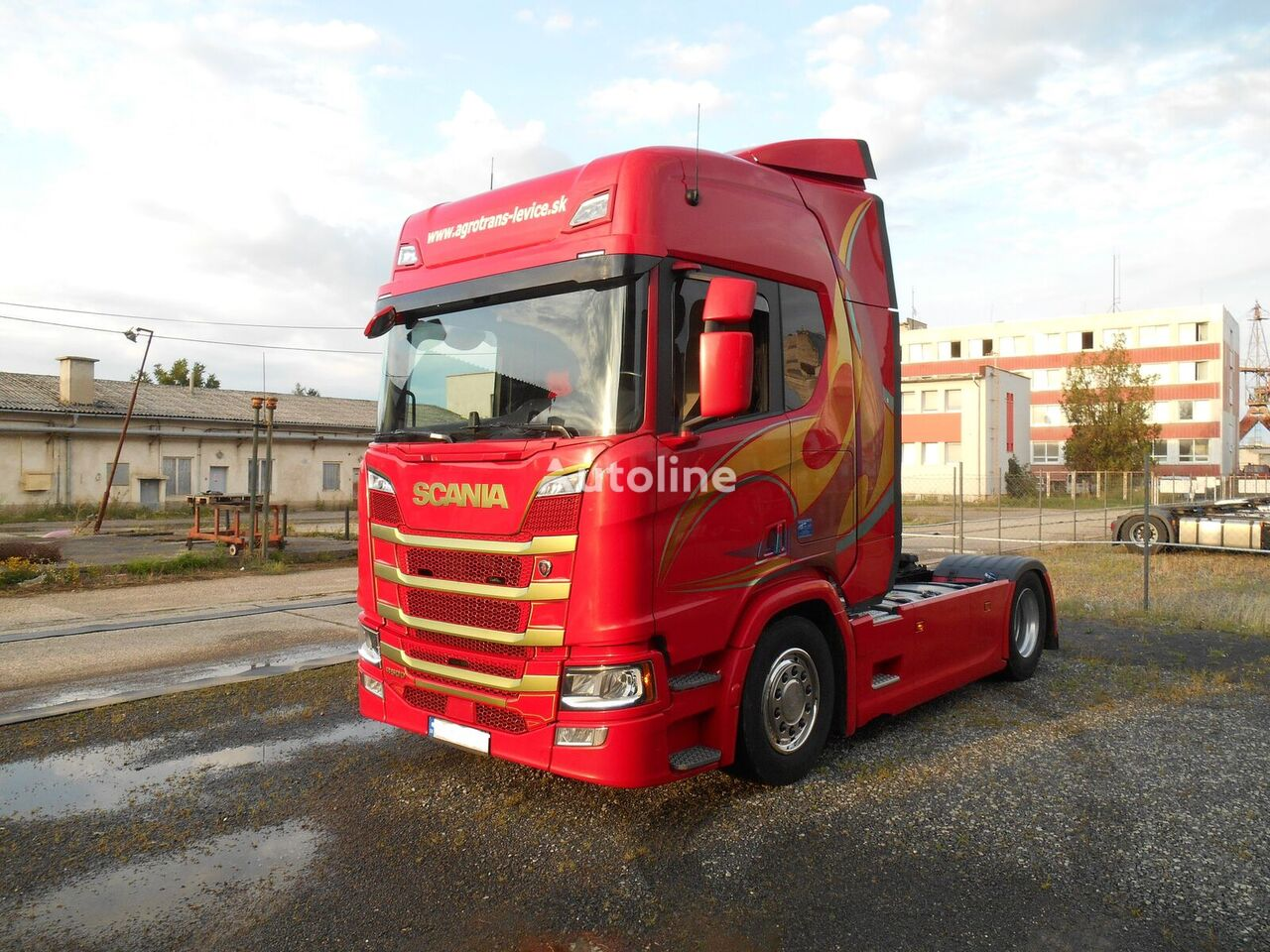 tracteur routier SCANIA R-500 ONLY SCR  FULL AIR LED HEADLIGHTS