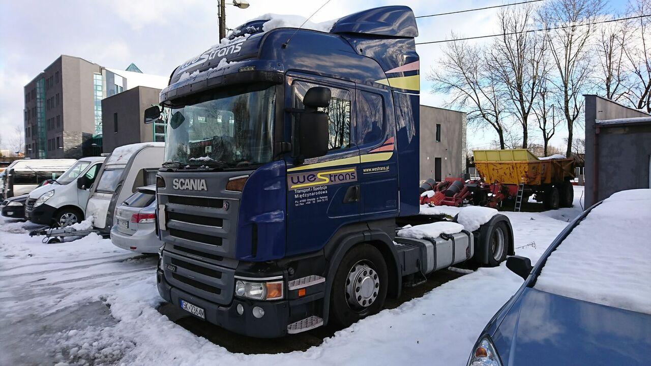 tracteur routier SCANIA R480 MEGA /LOW DECK RETARDER XENON 2008