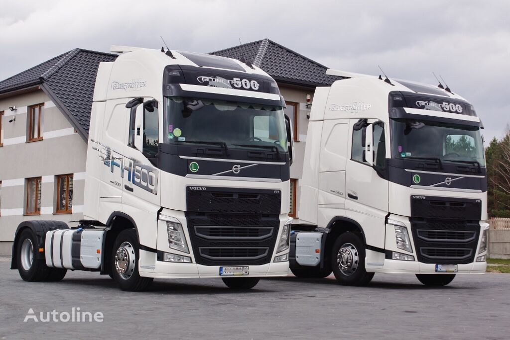 tracteur routier VOLVO FH 500 GLOB XXL EURO 6 STANDARD * PERFECT* 2014/2015