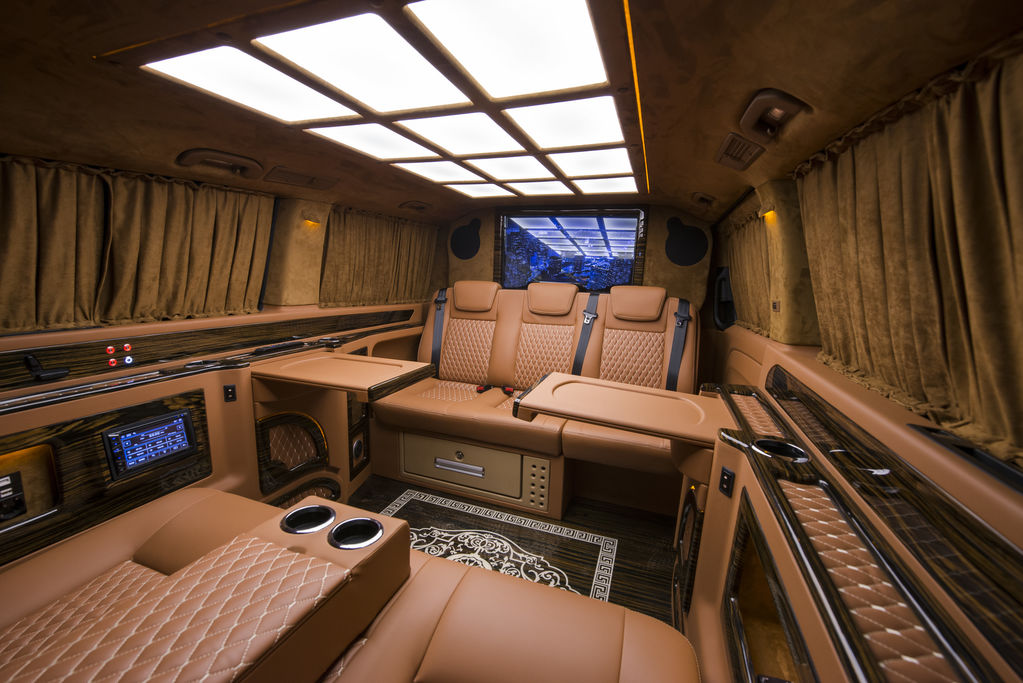 minibus de passager MERCEDES-BENZ 114 Automatic Doktor VIP Exculitive Vip Design neuf